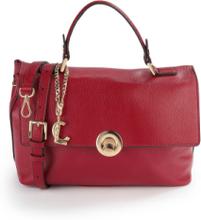 Handväska från L. Credi röd
