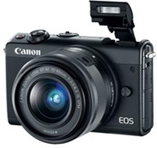 Canon EOS M100 - digitalkamera EF-M 15 - 45 mm IS og 22 mm objektiver