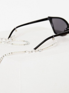 NLY Accessories Clear Crystal Sunglasses String Solbriller