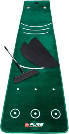 Pure2Improve Puttmatta för golf med kvast 335,3x69,9 cm