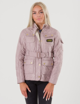 Barbour, International Polarquilt, Rosa, Jakker/Fleece för Jente, L