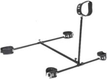Zado - Floor Pillory Justerbart set med Skampåle och Benspridare