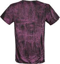 Outer Vision - Scratch Tattoo -T-skjorte - svart, rosa