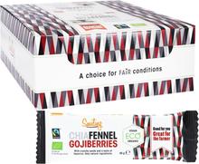 Bars Chia-Fänkåls- & Gojibär 20-pack - 40% rabatt