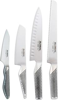 Global Knivset med 4 Knivar