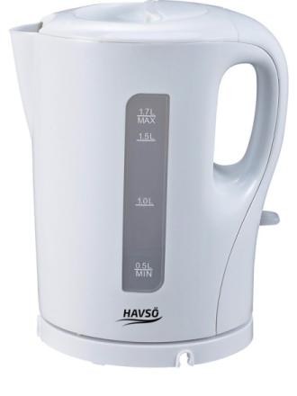 Vedenkeitin Jacob 1.7 L Tea Kettle - Valkoinen -