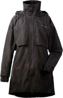 Didriksons Milly Women's Parka Dame parkas ufôrede Sort 44