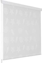 vidaXL Rullgardin för dusch 120x240 cm sjöstjärna