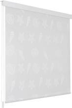 vidaXL Rullgardin för dusch 100x240 cm sjöstjärna