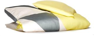 KAOS, Gjesp Ekologiskt Junior Bäddset Lemon 100 x 140 cm