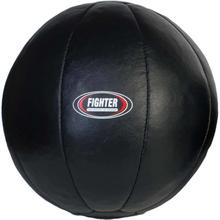 Medicinbollar svart läder 5-12kg 6kg