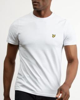 LYLE & SCOTT - Crew Neck T-shirt Vit