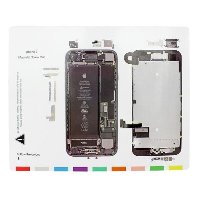 iPhone 7 Magnetisk Skruvmatta
