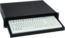 """Adam Hall 87412 19"""" rackmount Computer Keyboard Tray"""