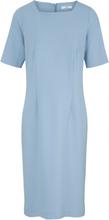 Jerseyklänning kort ärm från Peter Hahn blå