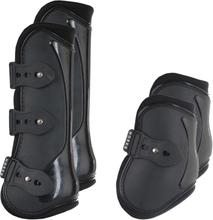 HORKA Benskydd för häst 4 st PVC strl. L svart 180661-0002