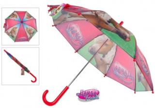 Heste Paraply 70 x 60 cm til børn