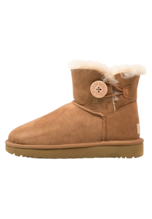UGG MINI BAILEY BUTTON II Vinterstøvler chestnut