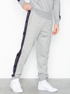Gant O1. Gant Archive Stripe Sweat Pant Bukser Light Grey Melange