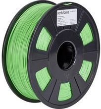 3D-skrivare Filament Renkforce PLA-plast 1.75 mm Grön 1 kg