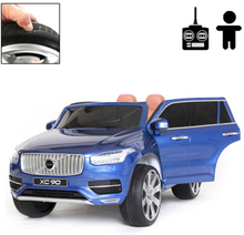 Rull Elbil - Volvo Xc90 Inscription 12V - Bursting Blue