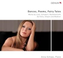 Franz Liszt - Dances Poems Fairy Tales (Audio CD)