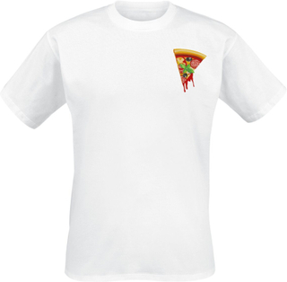 Create You Pizza - -T-skjorte - hvit