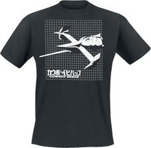 Cowboy Bebop - Grid -T-skjorte - svart