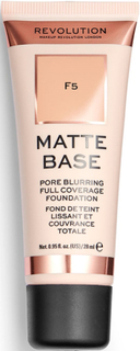 Makeup Revolution Matte Base Foundation F5