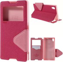 Sony Xperia Z5 ROAR KOREA View Etui m. Pung Pink