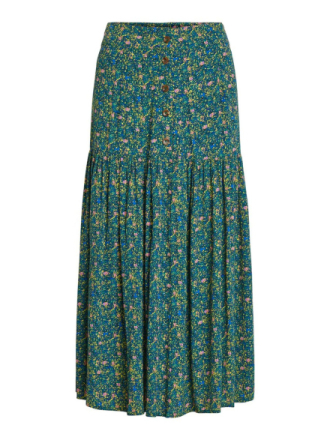 OBJECT COLLECTORS ITEM Patterned Maxi Skirt Women Green