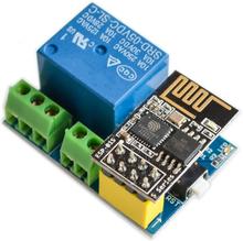 1pcs ESP8266 ESP-01S Relay module relay WIFI intelligent socket.Add ESP-01S For arduino