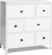 Mavis - Abisko Chest Of Drawers, 6 Drawers, White Lacquer