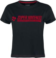 Nintendo - SNES - Super Nintendo Entertainment System -T-skjorte - svart