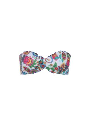 Bandeau-Bikini-Oberteil Alessia aus Piquet