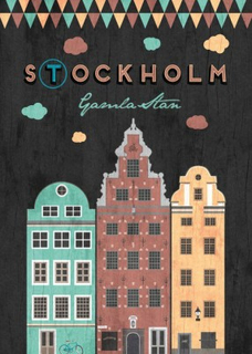 Poster - Stockholm - Gamla Stan (50x70 cm)