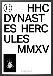 Poster HAGEDORNHAGEN - HHC Dynastes Hercules 70x100 cm