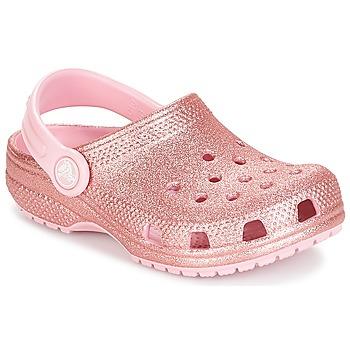 Crocs Træsko til børn CLASSIC GLITTER CLOG K Crocs - Spartoo