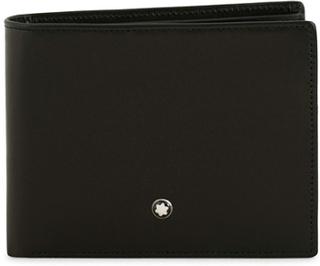 Almindelige punge von Montblanc. Grösse: One size. Farbe: Sort. Montblanc Meisterstück Leather Wallet 6cc Black