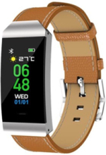 BFH-250 - silver - activity tracker with band - brown