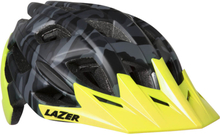 Lazer Ultrax Helmet - M - Matt Black Camo/Flash Yellow