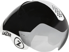 Lazer Wasp Air Tri Helmet - M-L - Black Chrome W/White Kit