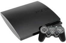 PlayStation 3 Slim 120GB Sort
