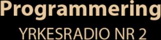 Zodiac 90050 Programmering Yrkesradio nr 2