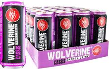 Energidryck Wolverine Cassis 24-pack - 60% rabatt