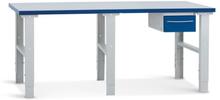 Verkstadsbänk med bordslåda 1 2500x800 mm