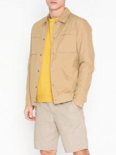 Selected Homme Slhicon Shirt Jkt W Skjorter Lys brun