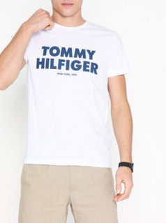Tommy Hilfiger Tommy Hilfiger Tee T-shirts & linnen Bright White