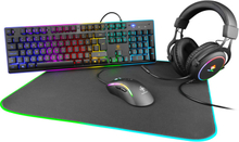 Deltaco Gaming 4-In-1 RGB Gaming Bundle