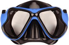 Waimea gummerad dykmask för vuxna svart/koboltblå 88DL